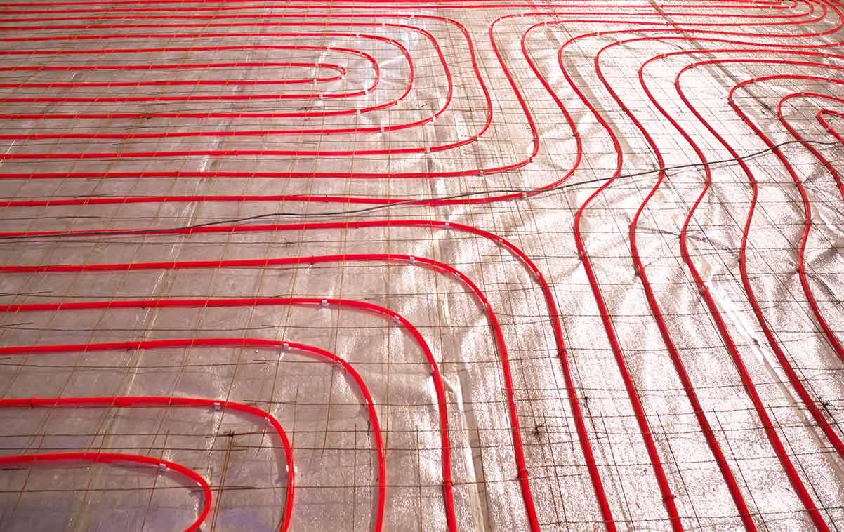 pavimento riscaldato elettrico