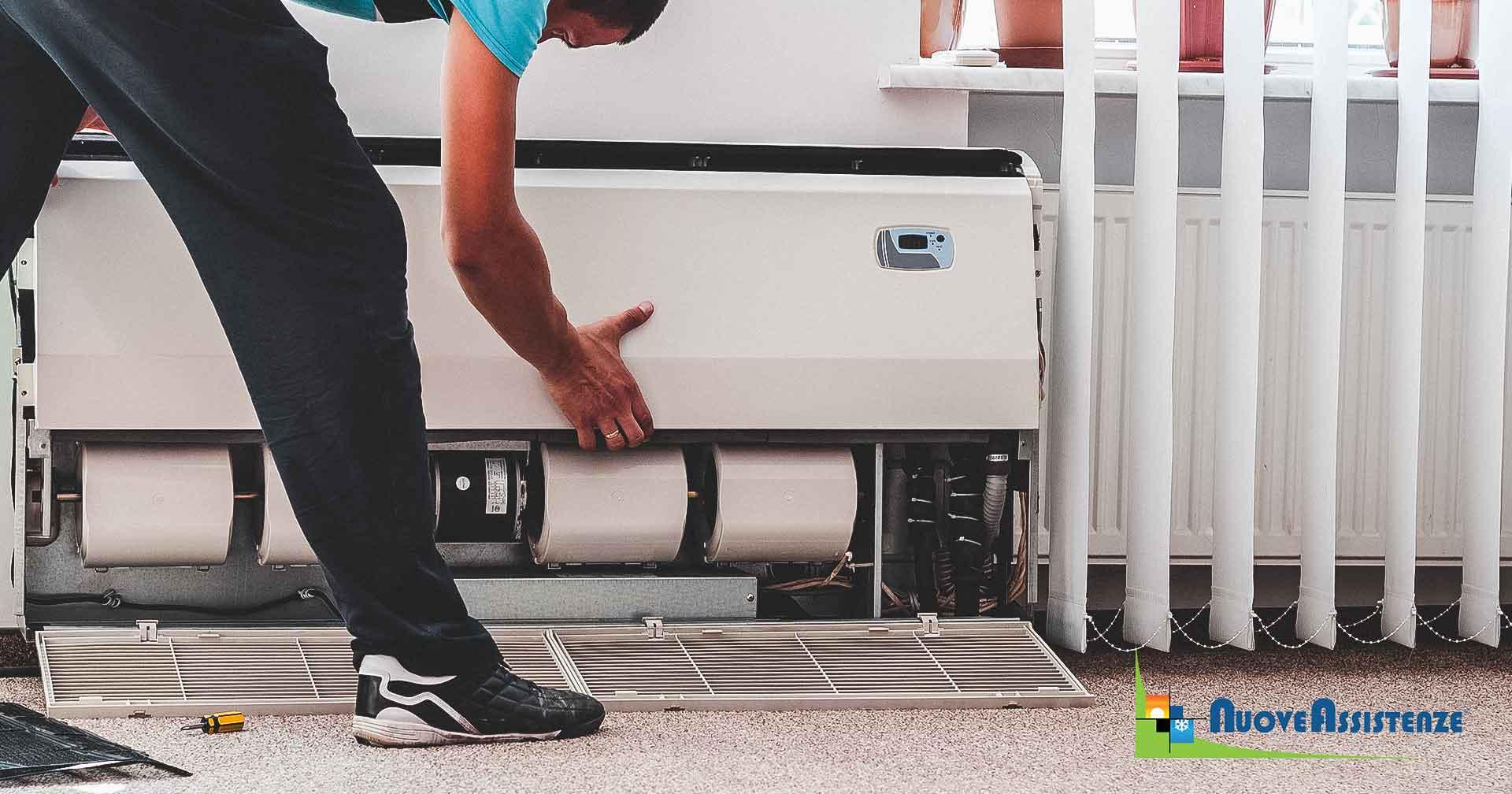 manutenzione impianto di climatizzazione
