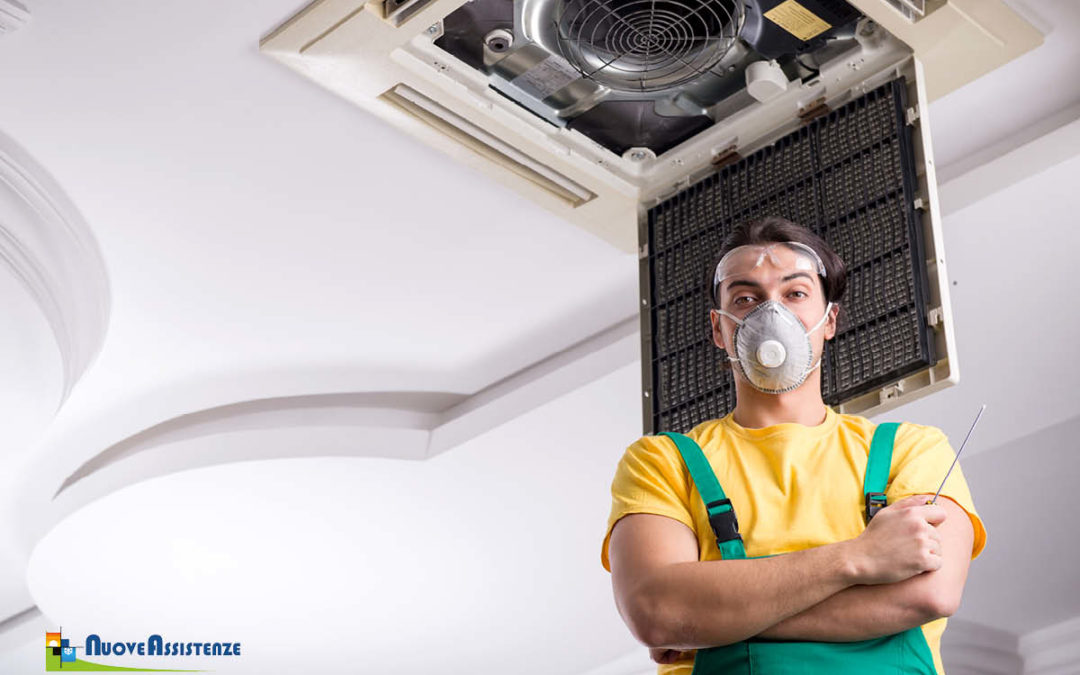 Sanificazione condizionatori: utilizza i condizionatori in sicurezza
