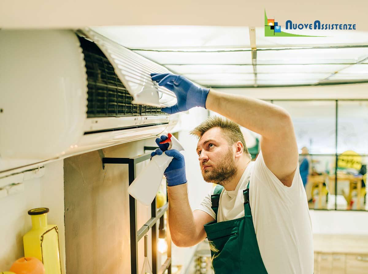 certificazione sanificazione climatizzatori