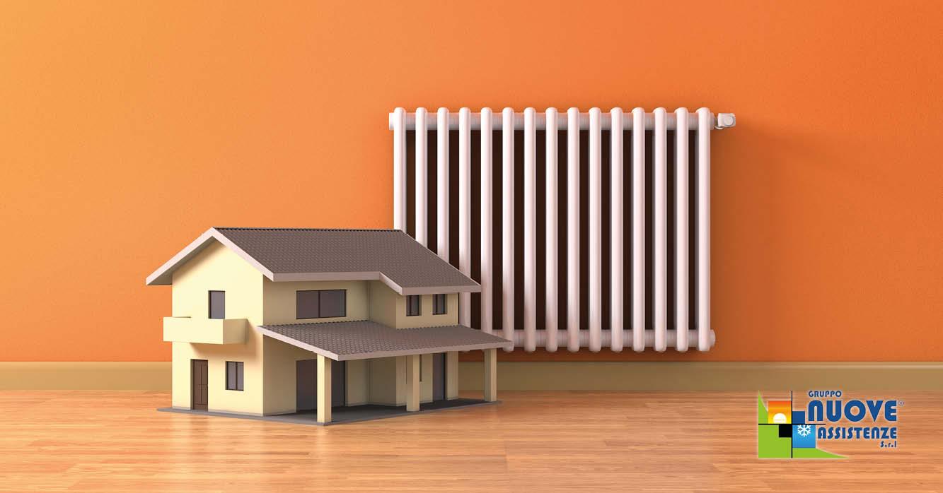 fabbisogno termico di un edificio