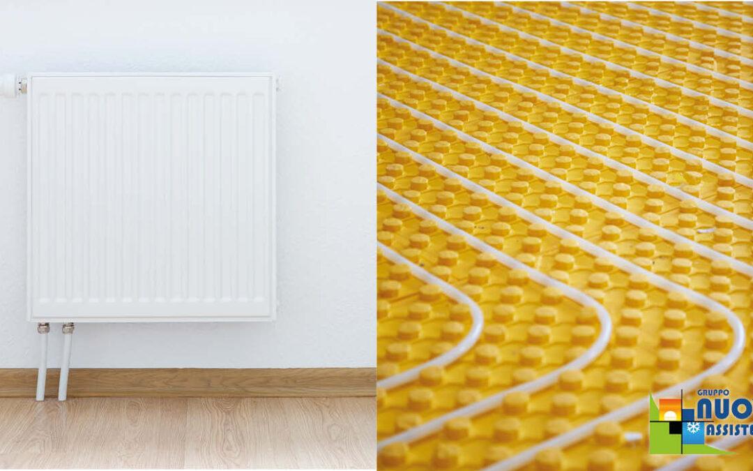 Riscaldamento a pavimento o termosifoni? Le nostre opinioni