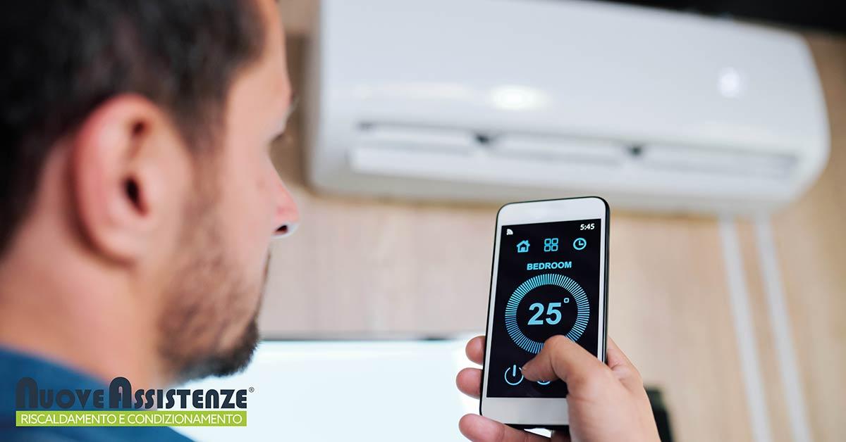aria condizionata temperatura ideale