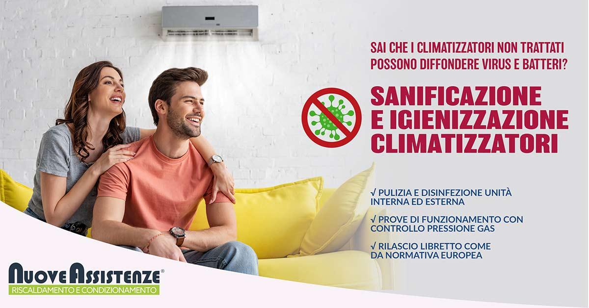 sanificazione e igienizzazione climatizzatori