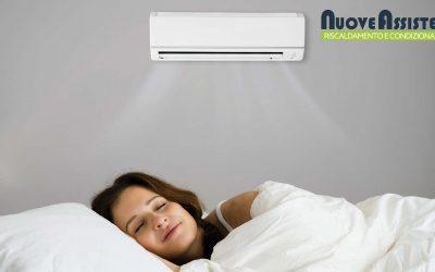 Come regolare il climatizzatore di notte?