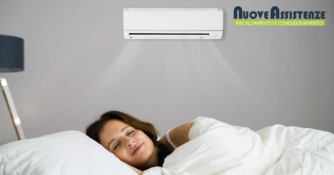 come regolare il climatizzatore di notte